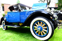 1928 Buick with wooden spokes