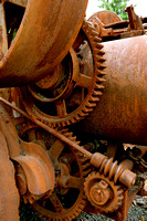 Rusty Log Truck Gears