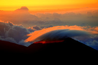 Mt Haleakala National Park at sunrise