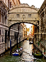 Bold Bridge of Sighs Venice